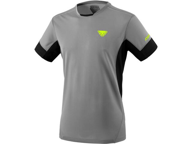 Dynafit Vert 2 Koszulka z krótkim rękawem Mężczyźni, szary/czarny
